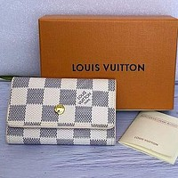 Louis Vuitton Lv New Men And Women Fashion Casual Short Key Case Bag