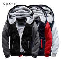 Mens Hooded Sweatshirt Winter Long Sleeve Hoodies Men Chandal Hombre Casual Hip Hop High Streetwear Fleece Hoody Man Clothing