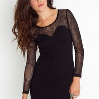 Elsa Lace Dress - NASTY GAL
