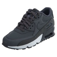 PEAPN6X Nike Big Kids Air Max 90 Leather Running Shoes