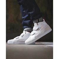 Puma Play Strap Gcc White Men Sneaker