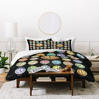 Belle13 A Time For Everything Duvet Cover
