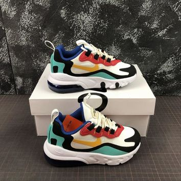 Nike Air Max 270 React Toddler Kid Running Shoes Child Sneakers - Best Deal Online