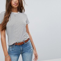 Abercrombie& Fitch Boxy Tee at asos.com