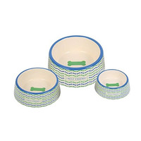 G! Best Friend Dog Food and Water Bowls - Set of 3