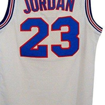 #23 Men's Jordan Tune Squad Space Jam Classics White Basketball Jersey