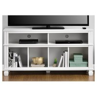 """Woodcrest TV Stand For TVs Up To 55"""" - White - Ameriwood Home"""