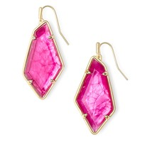 Kendra Scott - Emilia Gold Earrings in Azalea Illusion