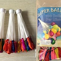 3pc Set - Super Water Balloons - Fill 100 Balloons Per Minute - Already Tied!
