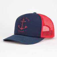 Rip Curl Iconic Womens Trucker Hat Navy One Size For Women 26128621001