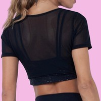 Star Top with Sport Bra (included)