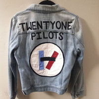 Twenty One Pilots Hand-painted Denmi Jacket
