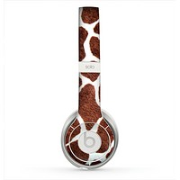 The Real Giraffe Animal Print Skin for the Beats by Dre Solo 2 Headphones