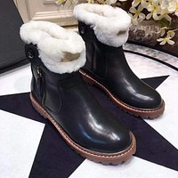 UGG  Women Casual Shoes Boots popularable casual leather Women Heels Sandal Shoes