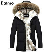 Batmo Men & Women Winter Duck Down Jacket High Quality, PLUS-SIZE S to 5XL