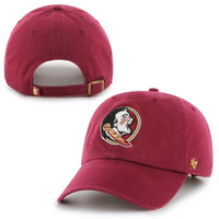 Florida State Seminoles '47 Brand Clean Up Adjustable Hat - Garnet