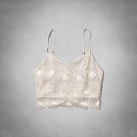 Jill Embellished Cropped Cami