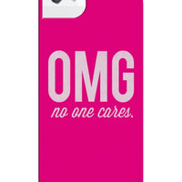 OMG! NO ONE CARES IPHONE CASE - PREORDER