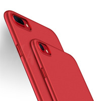 Luxury Soft TPU Red Cover for iPhone 7 7 Plus Case Plating Mobile Phone TPU Soft Case For iphone 6 6s plus Cover Red phone