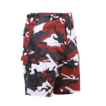 Rothco - Colored Red Camo BDU Shorts