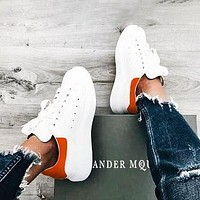 Alexander Mcqueen Tide Brand Women's Thick-soled Casual Sports