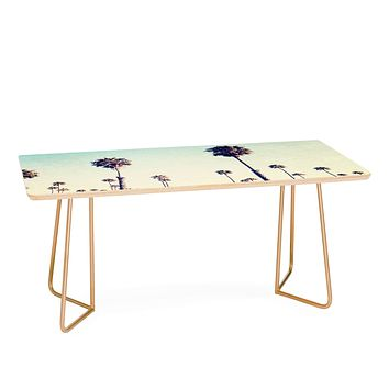 Bree Madden California Palm Trees Coffee Table