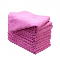 10 Ct Softees Microfiber Stain Resistant Towels – Pink