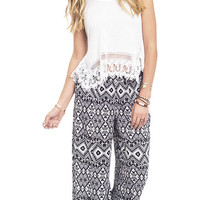 In My Tribe Printed Palazzo Pants