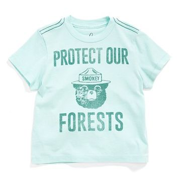 Infant Boy's Peek 'Protect Our Forests' Cotton T-Shirt