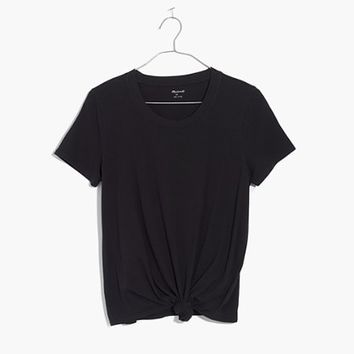 Knot-Front Tee