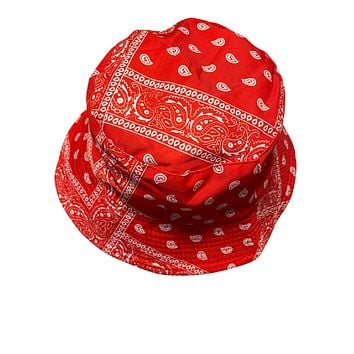 Light Red Bandana Hat