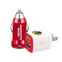 Mizco Chicago Blackhawks 2-Pack Home and Away Chargers