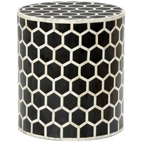 Lincoln Side Table. | Black