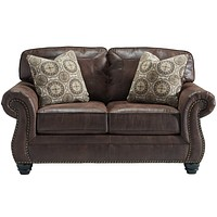 Benchcraft Breville Loveseat in Faux Leather