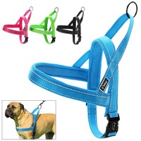 No Pull Nylon Quick Fit Reflective Dog Harness
