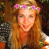 "Adjustable Flower Crown -""Folk Tales"""