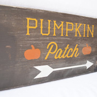 Fall wood sign- pumpkin patch sign, fall decor, rustic wood sign, Thanksgiving, Fall mantle, rustic home decor, Thanksgiving decor, Harvest