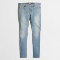 Factory skinny jean in faded wash