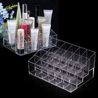 Trapezoid Makeup Case Display Stand Cosmetic Organizer