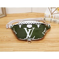 LV casual lady matching color printed Fanny pack fashion diagonal across the chest bag #1