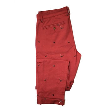 Altru Apparel Embroidered Pipes mens pants