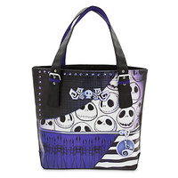 disney parks nightmare before christmas jack skellington buckle tote new with tag