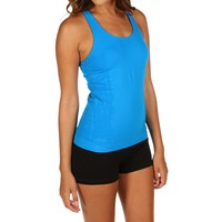 Sale-turquoise Workout Tank Top
