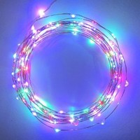Amazon.com: Starry Starry Lights - MultiColor Micro LED's - 20ft LED Light String with 120 LEDs on a Ultra Thin Copper String, Includes Power Adapter: Patio, Lawn & Garden
