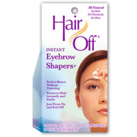 Hair Off Instant Eyebrow Shapers