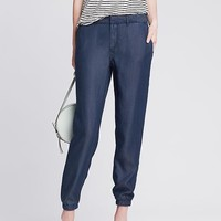 Banana Republic Womens Denim Soft Pant