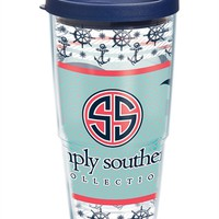 Simply Southern® Whale - Wrap with Lid | 24oz Tumbler | Tervis®