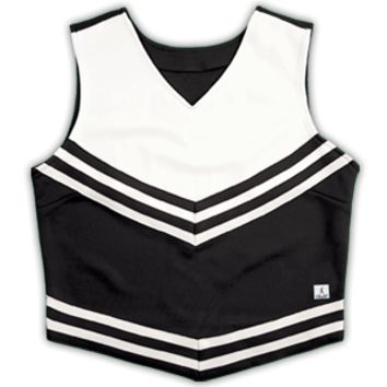 Double Knit V-Style Cheer Uniform Top - 404PT