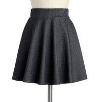 Hangout and About Skirt in Night | Mod Retro Vintage Skirts | ModCloth.com