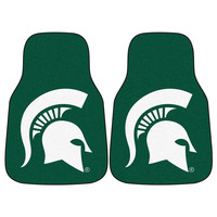 Michigan State Spartans NCAA Car Floor Mats (2 Front)